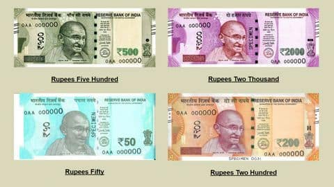 Visually impaired citizens unable to use new notes