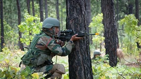 Shopian encounter: Terrorists surrender with weapons