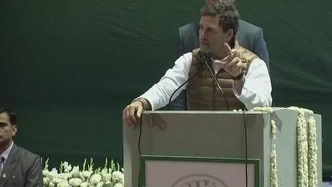 Rahul Gandhi: Congress will strike down triple talaq law