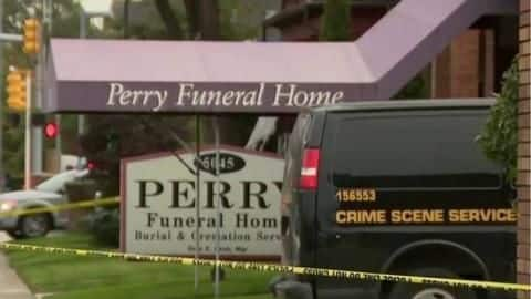 Remains of fetuses and infants found at second Detroit funeral home