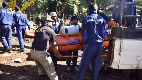 Meghalaya: Navy divers want water level reduced; miners remain trapped