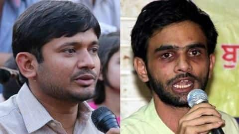 JNU sedition case: Charge sheet filed against Kanhaiya, Umar Khalid