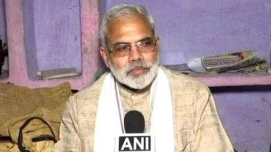 This Modi lookalike is campaigning for the Congress