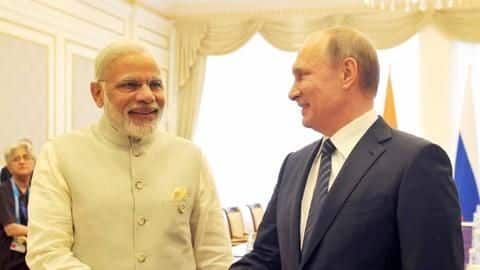 PM Modi arrives in Russia for informal summit with Putin