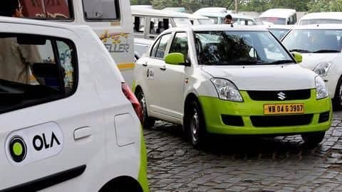 Ola cabs to introduce fully electric taxis
