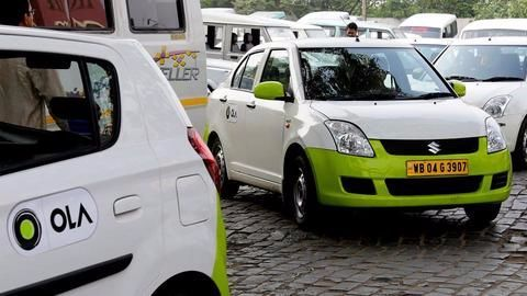 Ola Cabs to go green