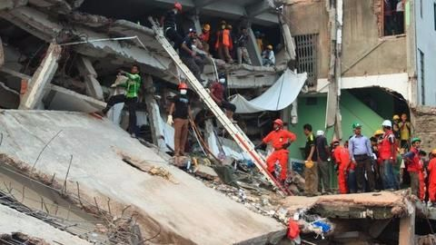 Flyover collapses in Bhubaneswar leading to fatalities and injuries
