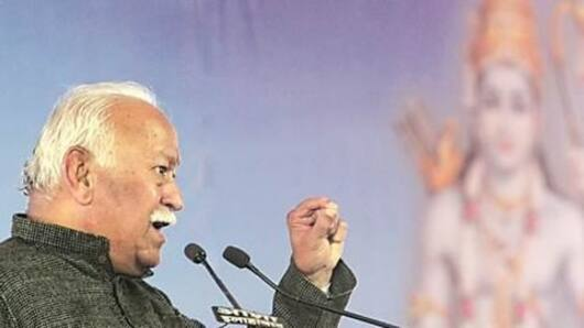 RSS chief on construction of Ram Mandir