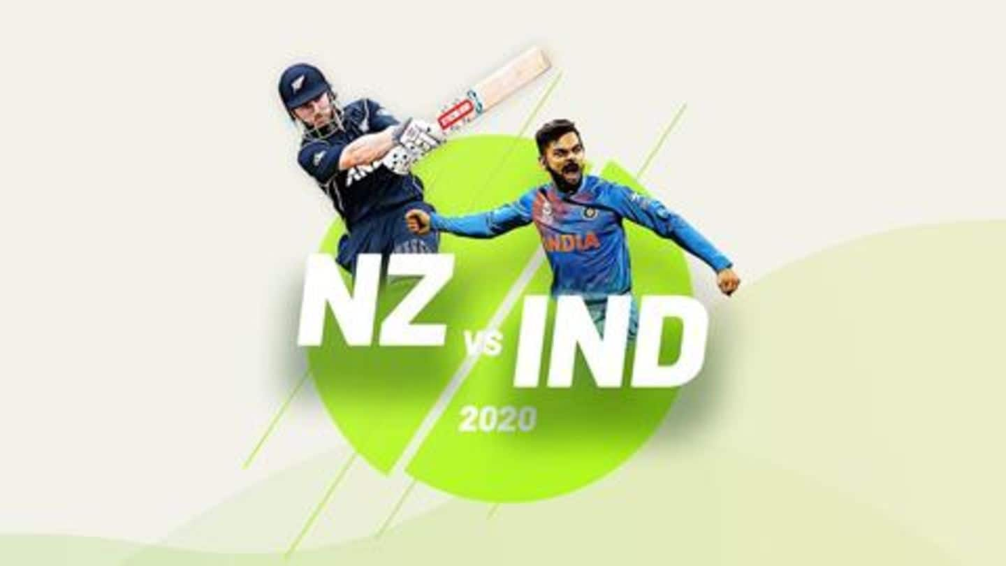 New Zealand vs India, 1st T20I: Statistical preview of Auckland