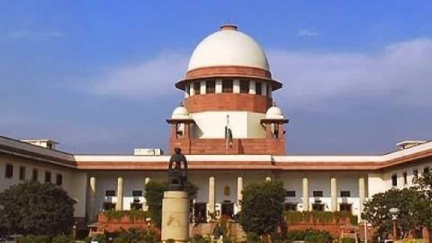"""SYL dispute: SC urges early """"amicable solution"""" between Punjab, Haryana"""