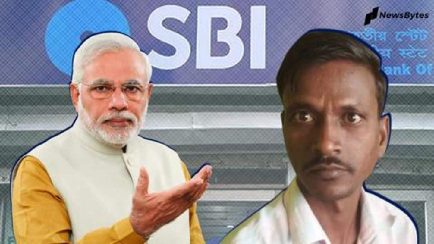 Man mysteriously receives money in account; believes Modiji sent it