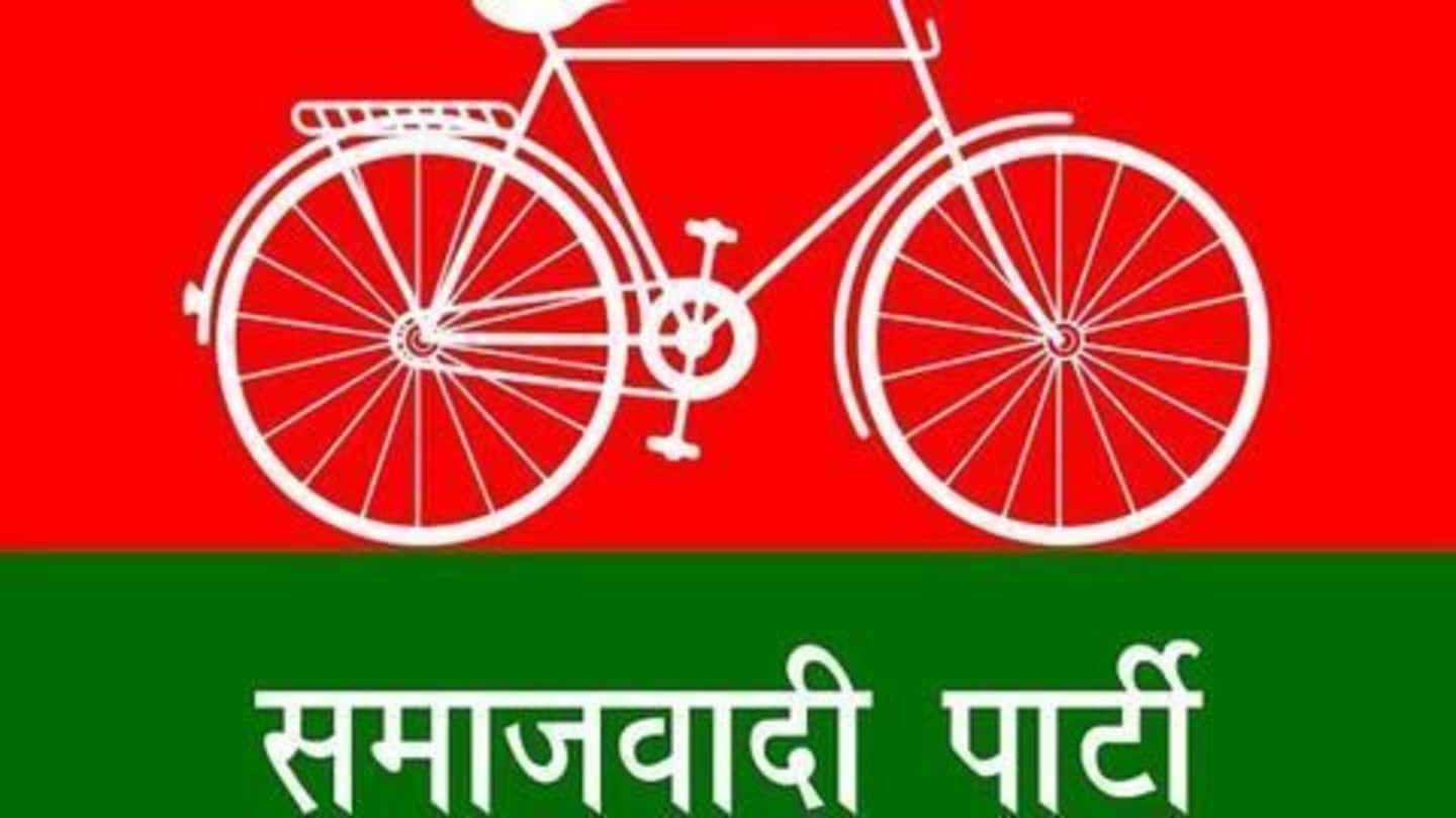 "Election Commission gives SP's ""cycle"" symbol to Akhilesh Yadav"