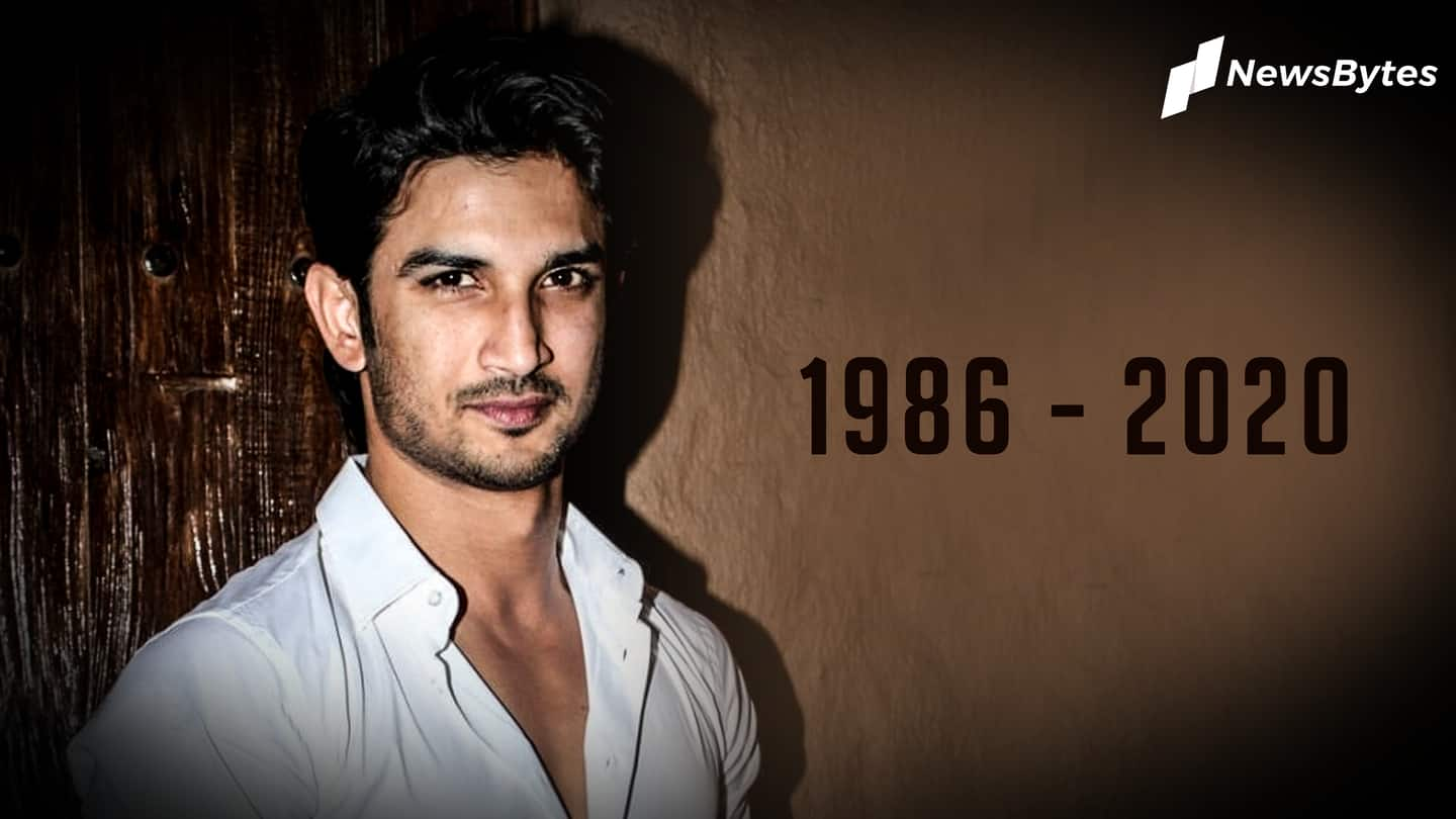 Actor Sushant Singh Rajput dies by alleged suicide at 34