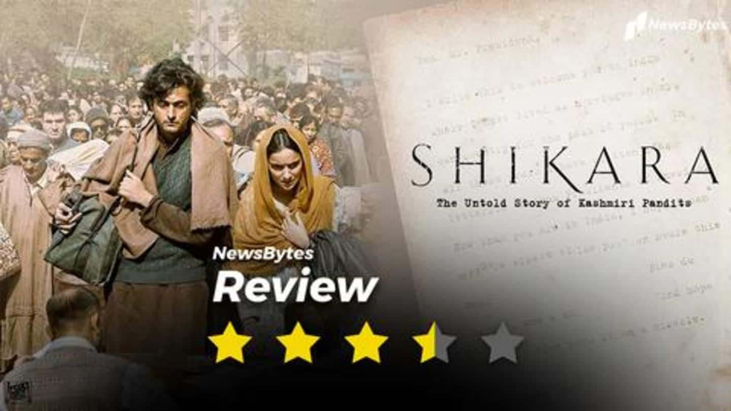 'Shikara' review: A beautifully crafted tale of an unforgettable tragedy
