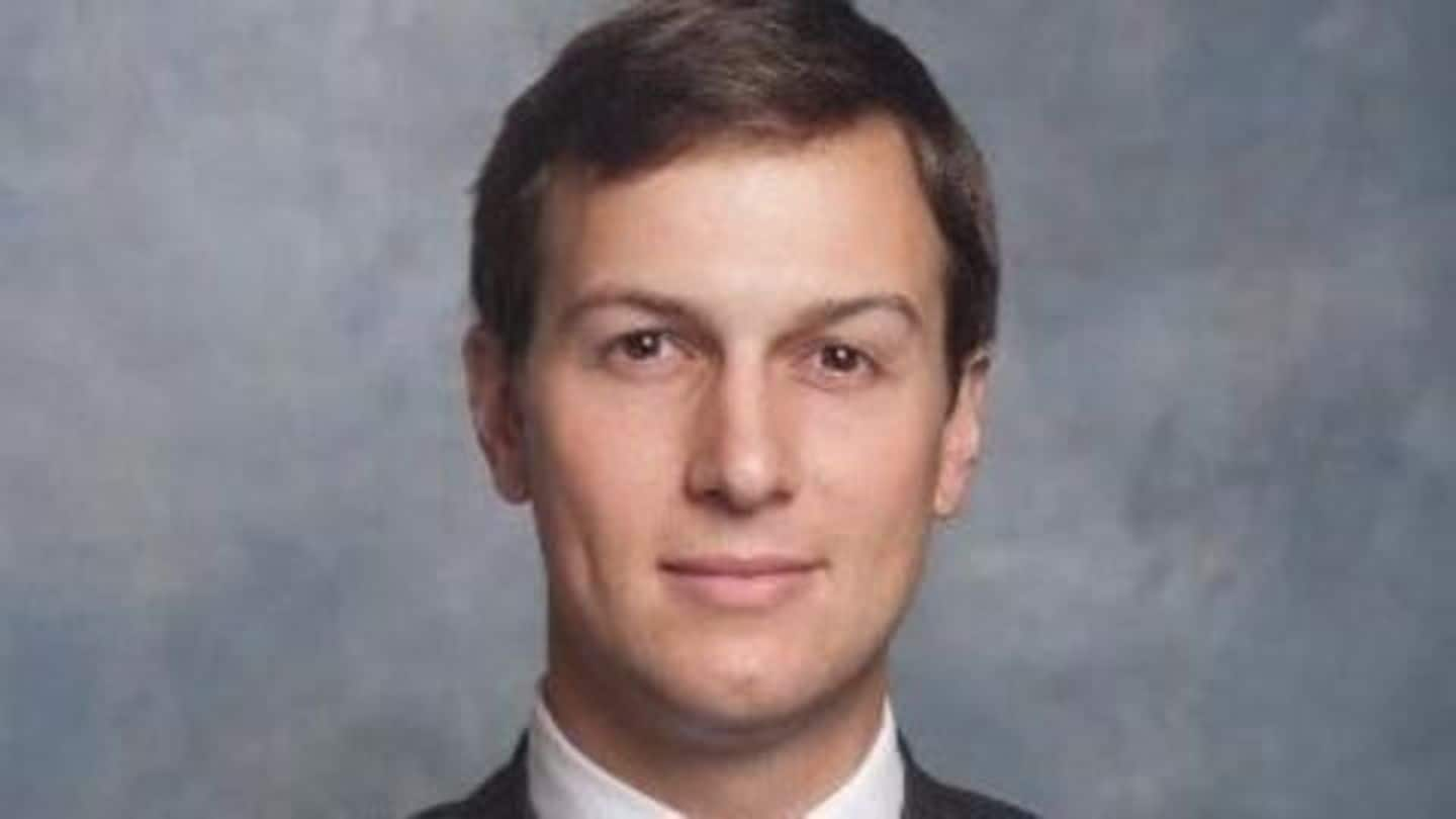 Trump's son-in-law Kushner ends development talks with the Chinese firm