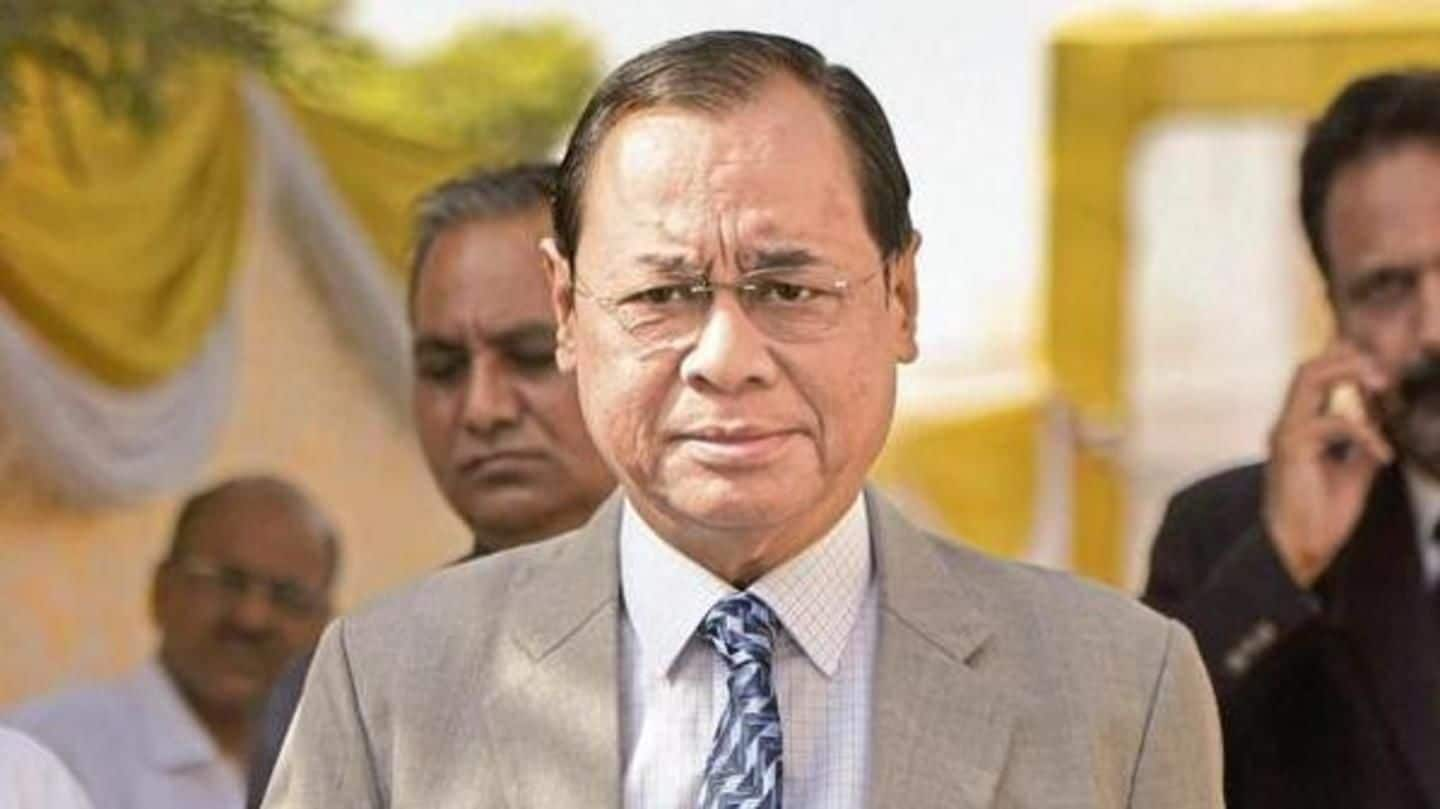 Justice Ranjan Gogoi takes oath as next CJI: Details here