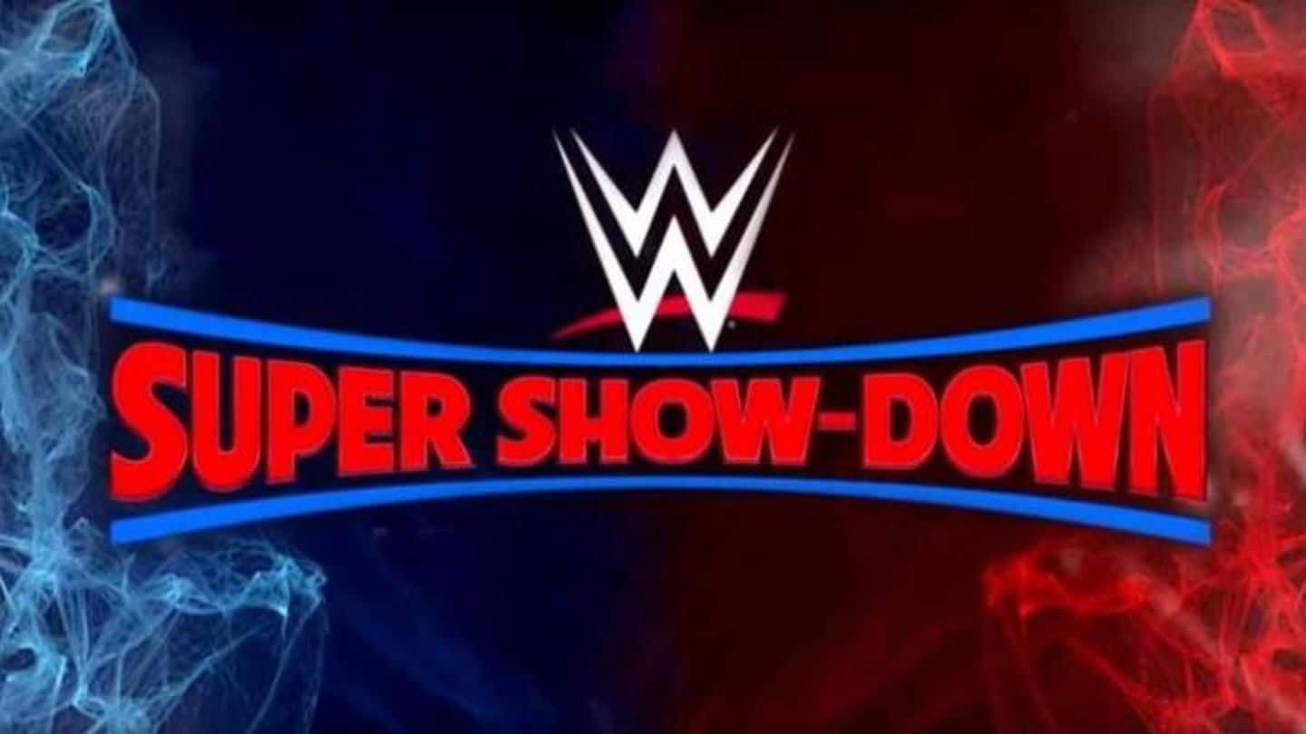 WWE Super Show-Down: Date, Matches, Time, Venue