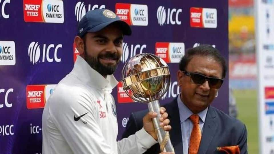 Kohli to receive ICC Test Championship mace after 3rd T20I