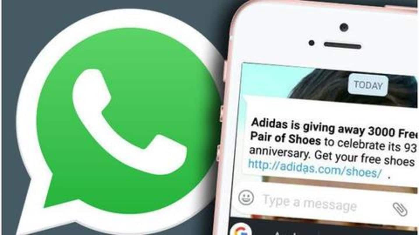 Alert: 'Adidas free shoes' scam is