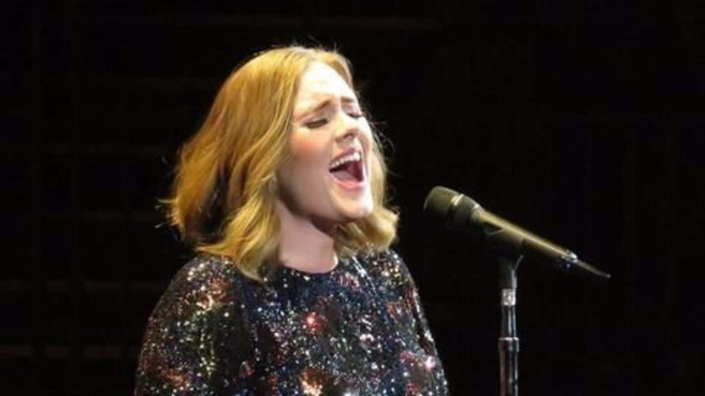 Adele's 'Hello' wins Song of the Year at Grammys