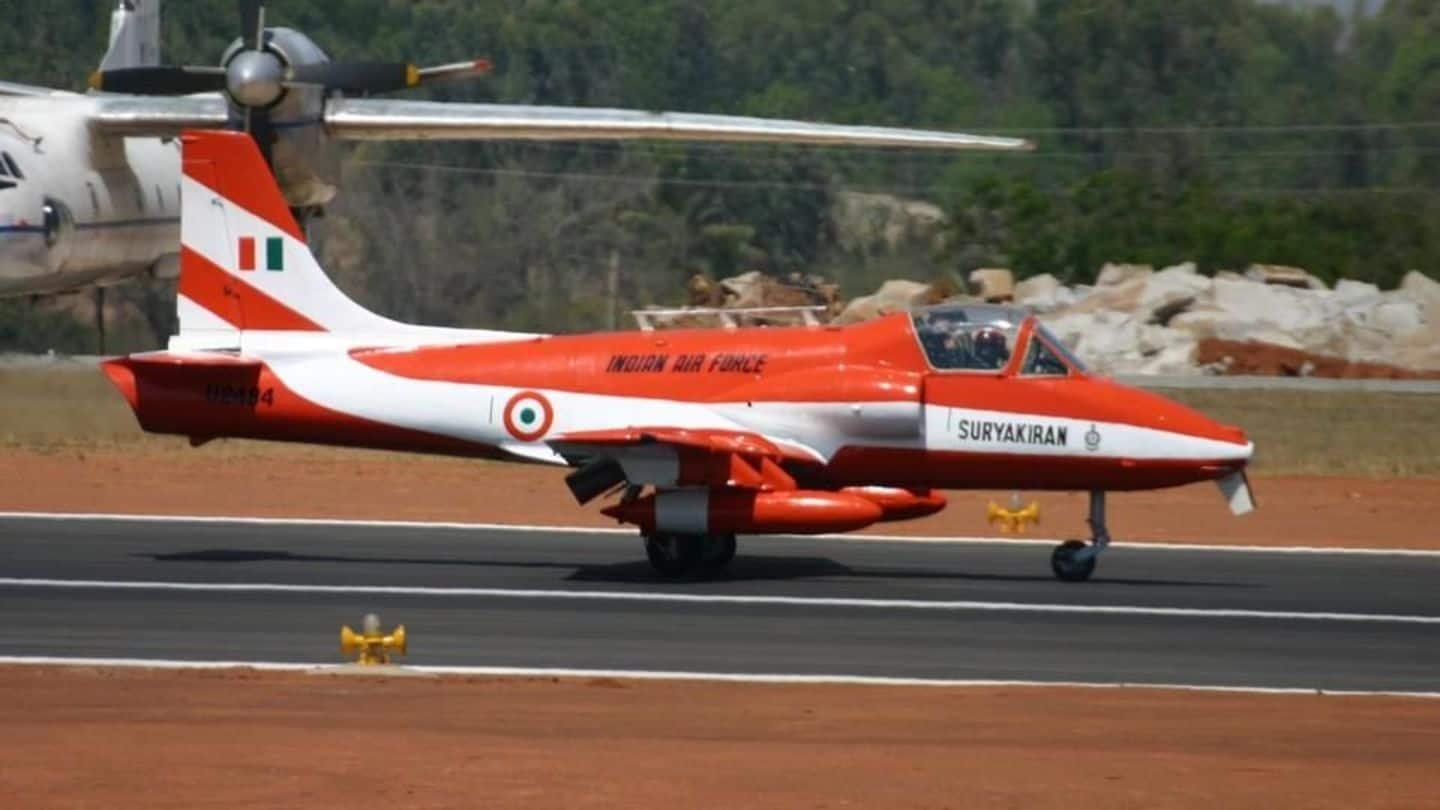 IAF trainee aircraft crashes in Telangana, pilot ejects safely