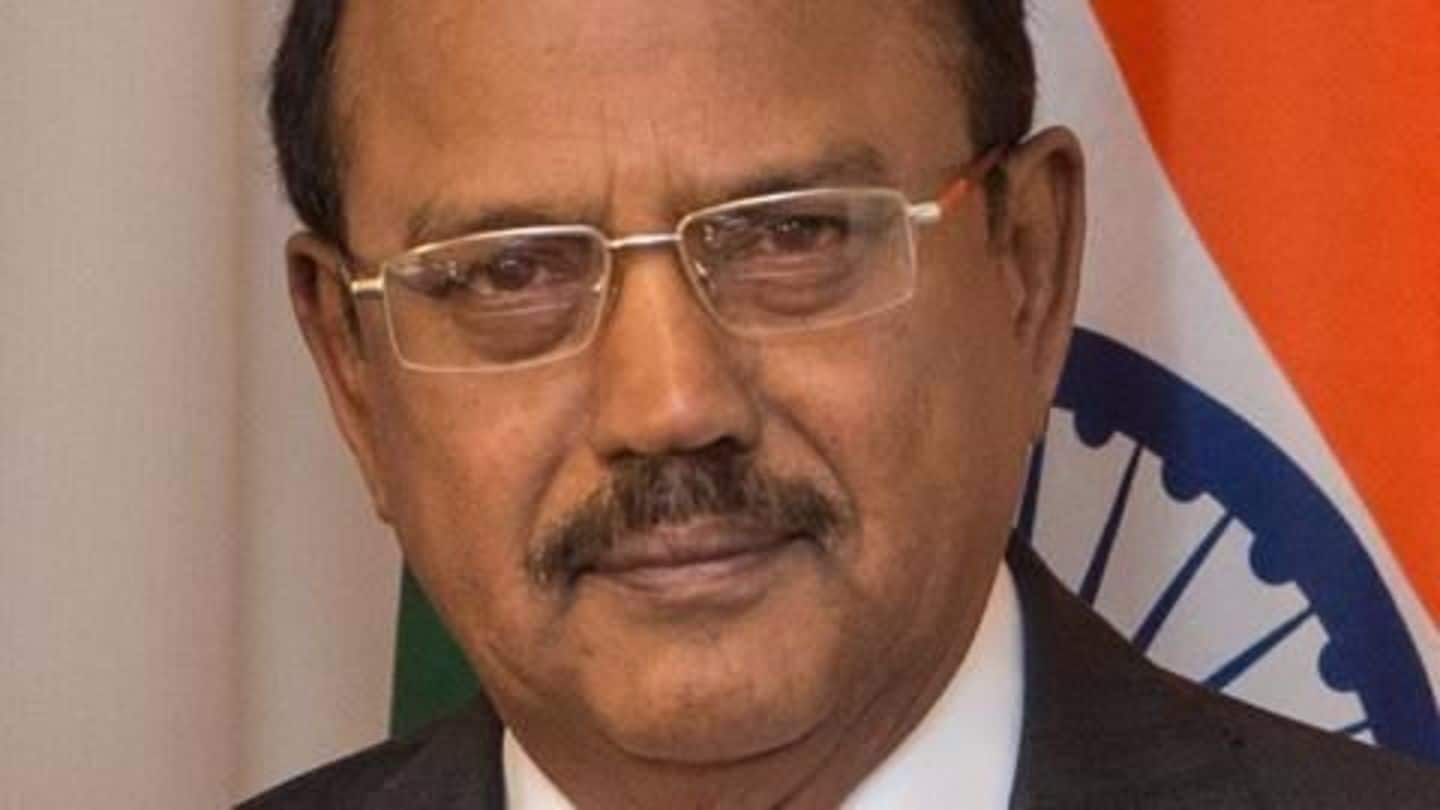 #SikkimStandoff: NSA Doval visits Beijing as China demands Indian withdrawal