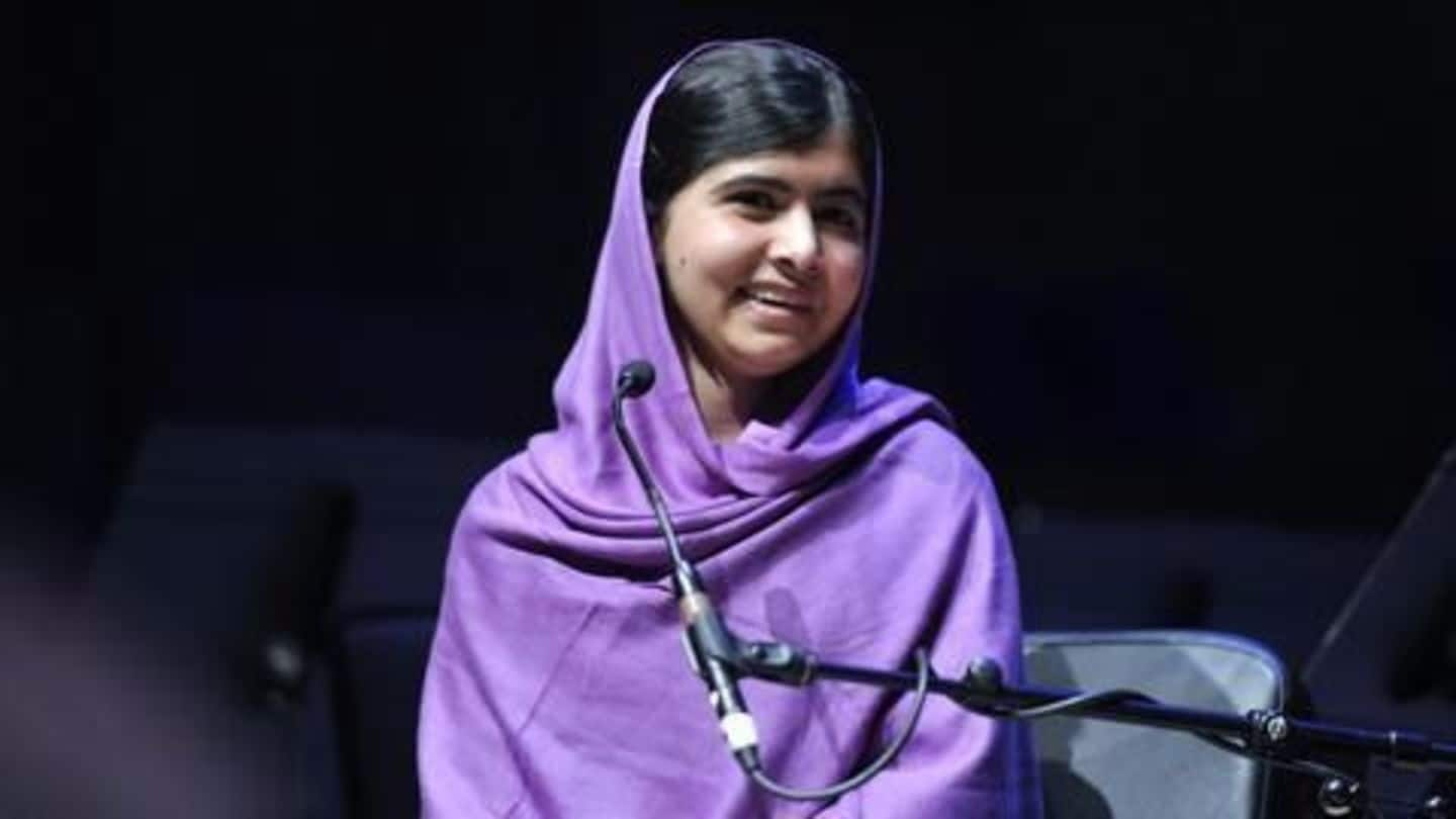 Malala Yousafzai becomes youngest person to receive honorary Canadian citizenship