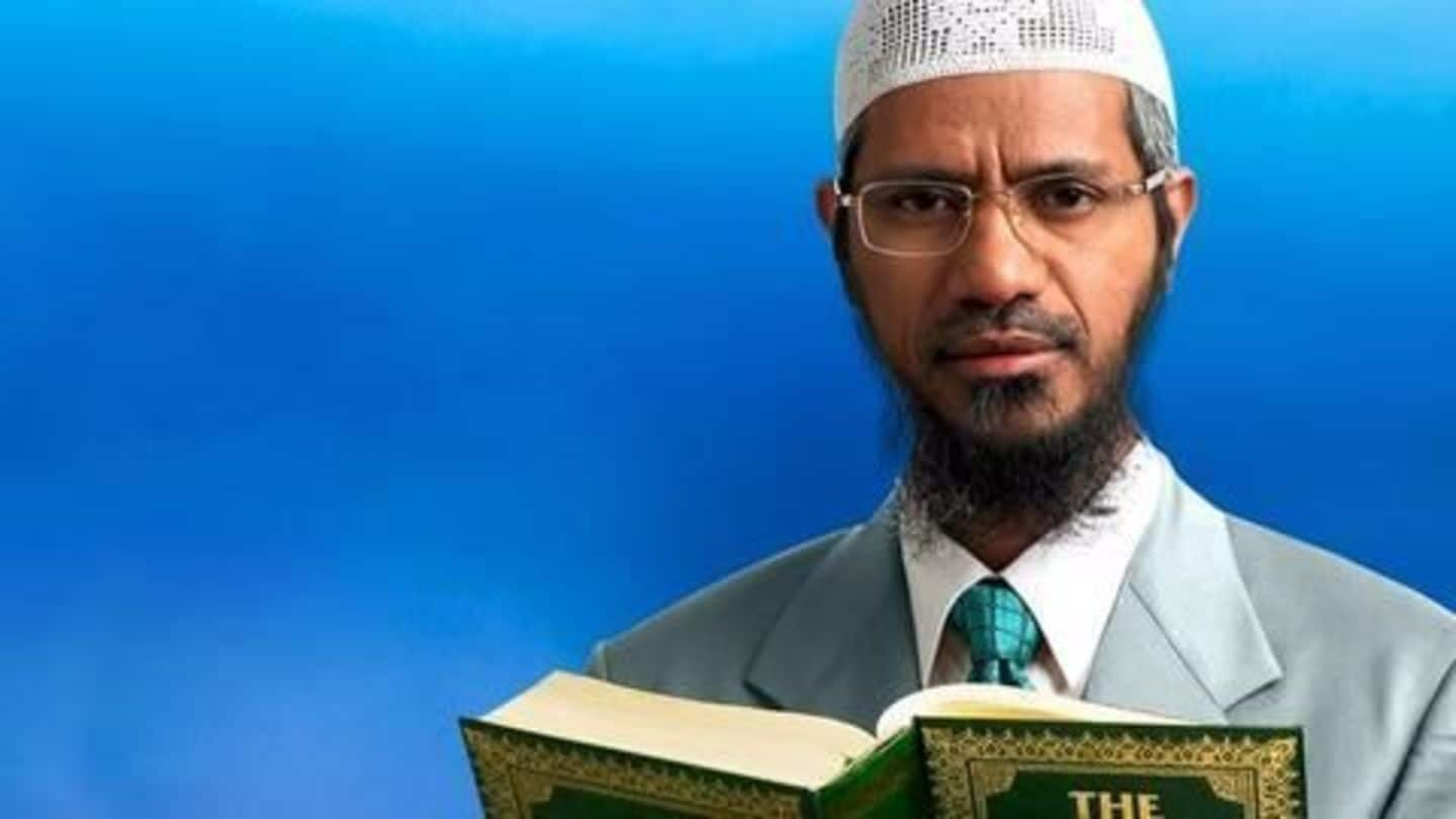 Zakir Naik gave Rs. 148cr to aide for 'safekeeping'