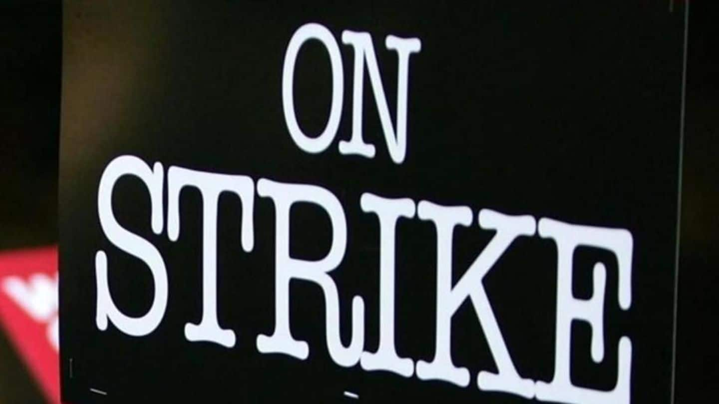 Bank union go on strike, services hit