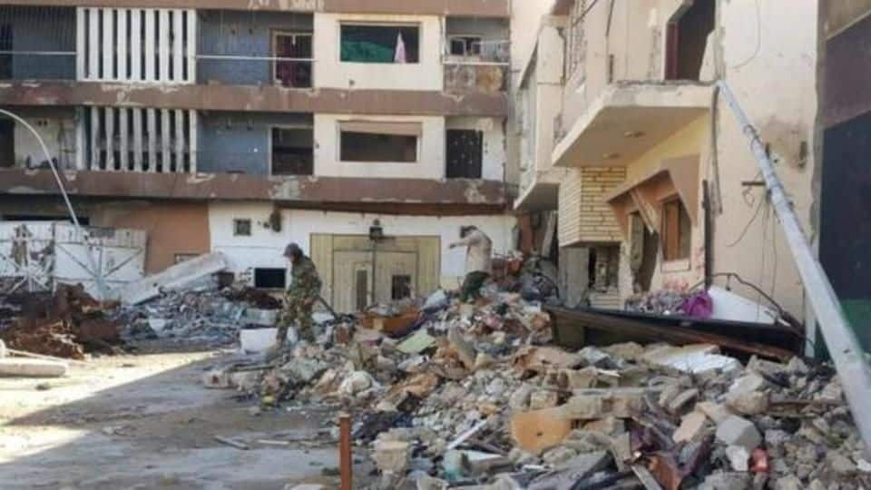 Dozens killed and wounded in Benghazi twin blasts