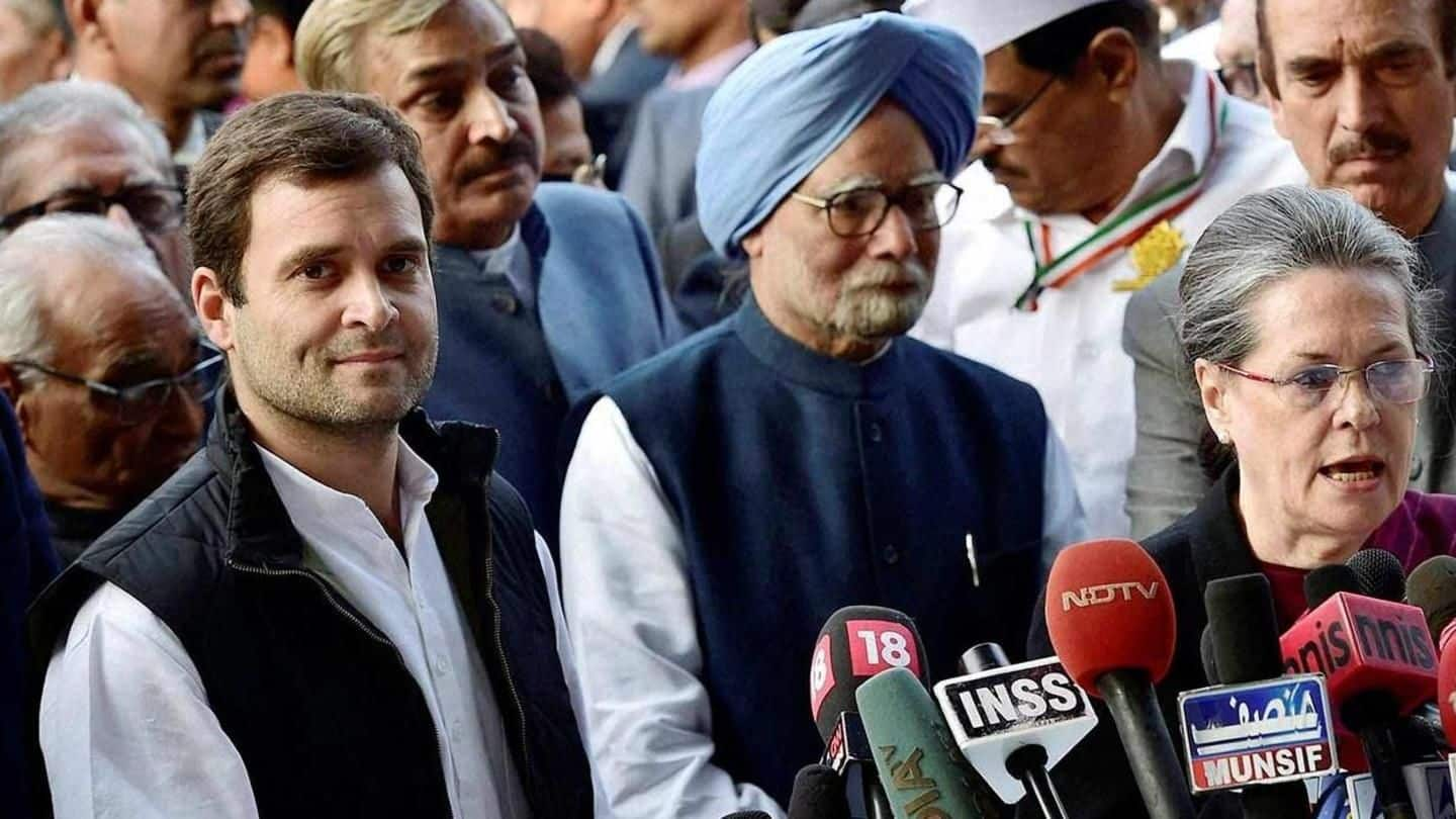"""At first CWC-meet, RaGa reminds of """"role, responsibility"""" of Congress"""