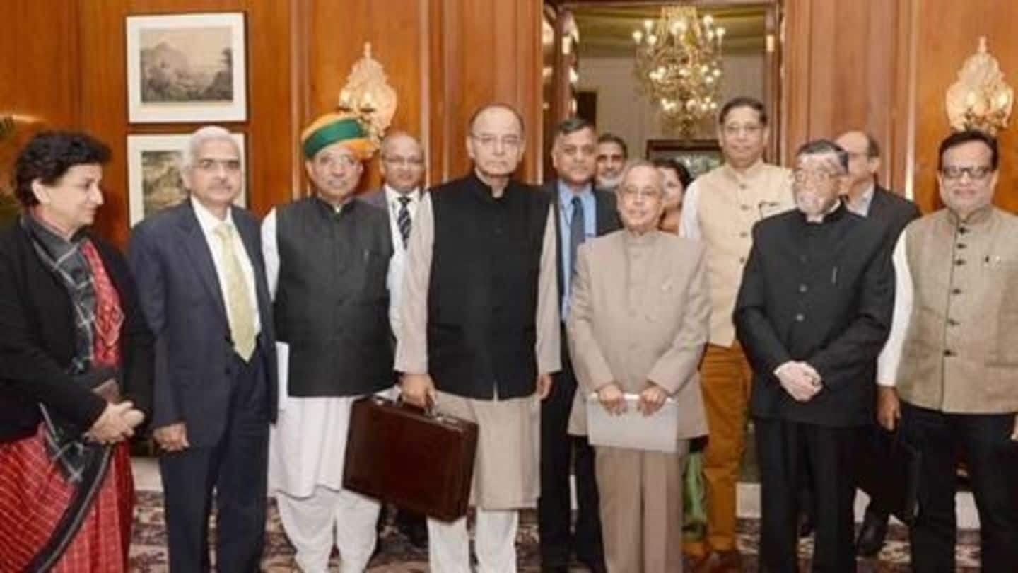 The core team that drafted the Budget