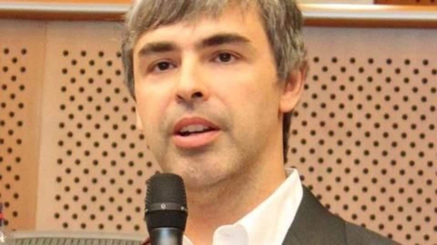 Google's Larry Page backed Kitty Hawk shares flying car video