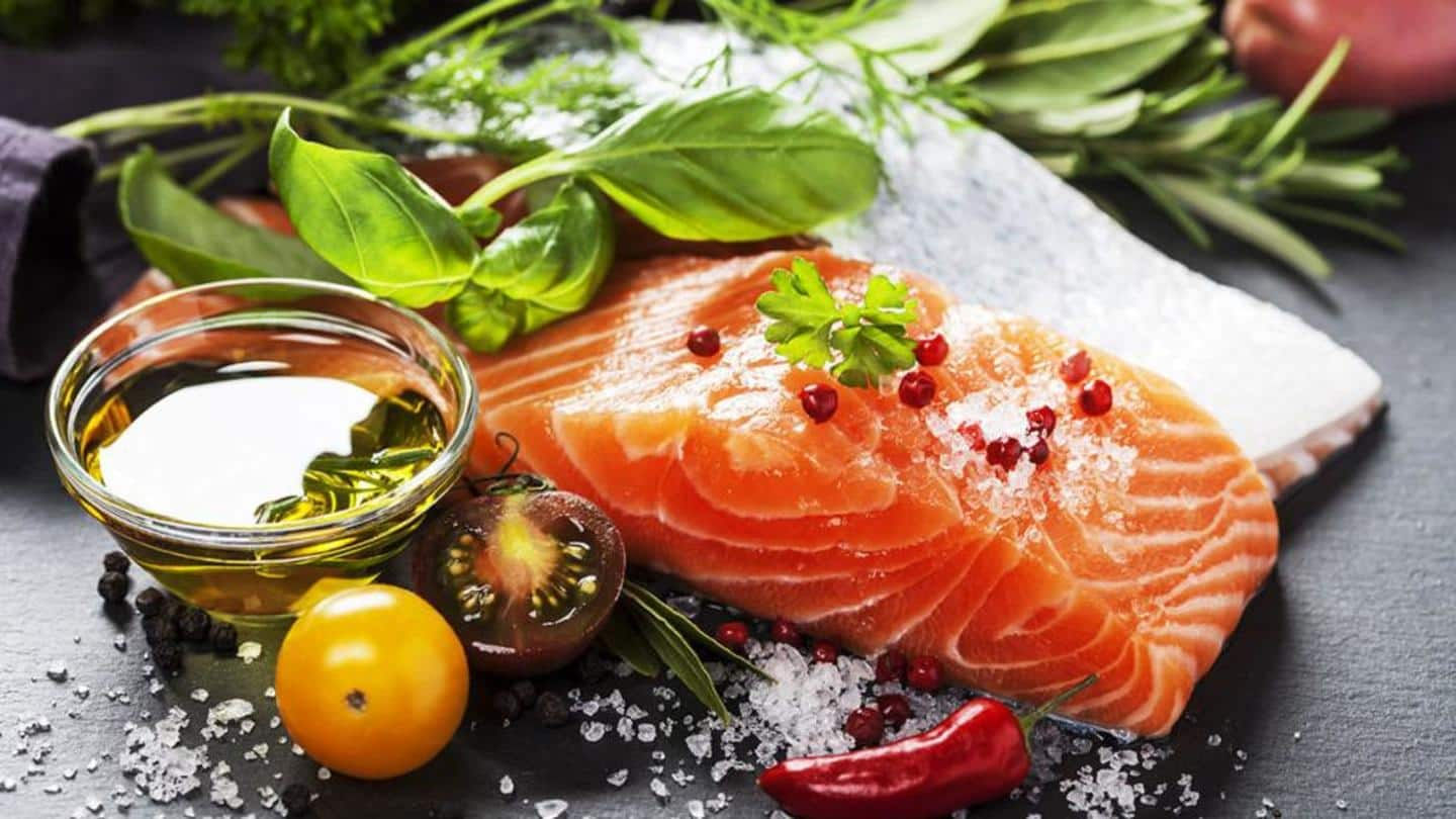 Fatty fish contain omega-3 fatty acids, which are essential for healthy hair