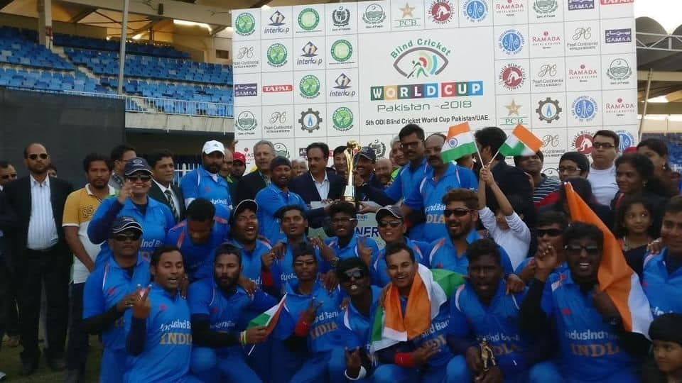 India beat Pakistan to lift blind cricket World Cup