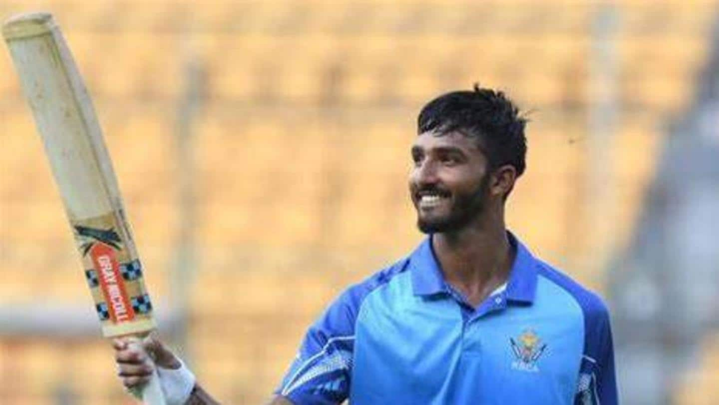 Padikkal gets past 1,000 List A runs, smashes highest score