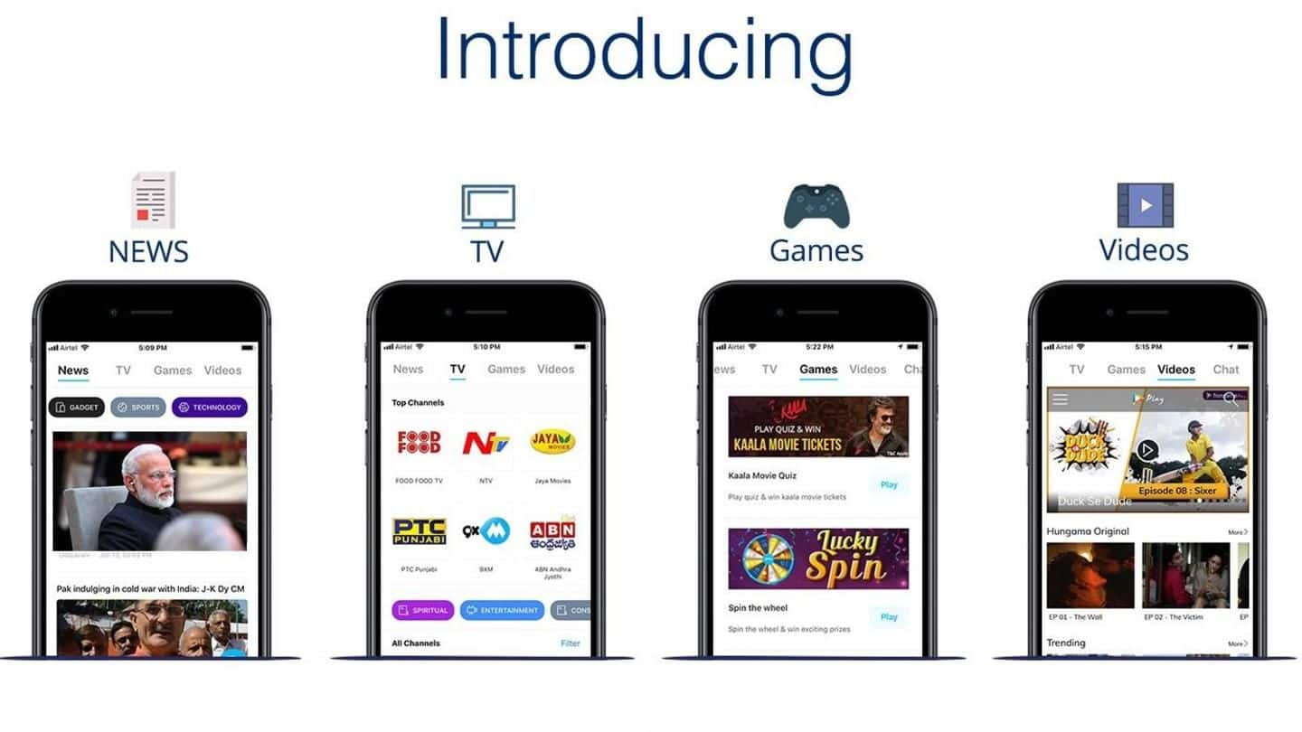 Now access news, live TV, entertainment, games in Paytm Inbox