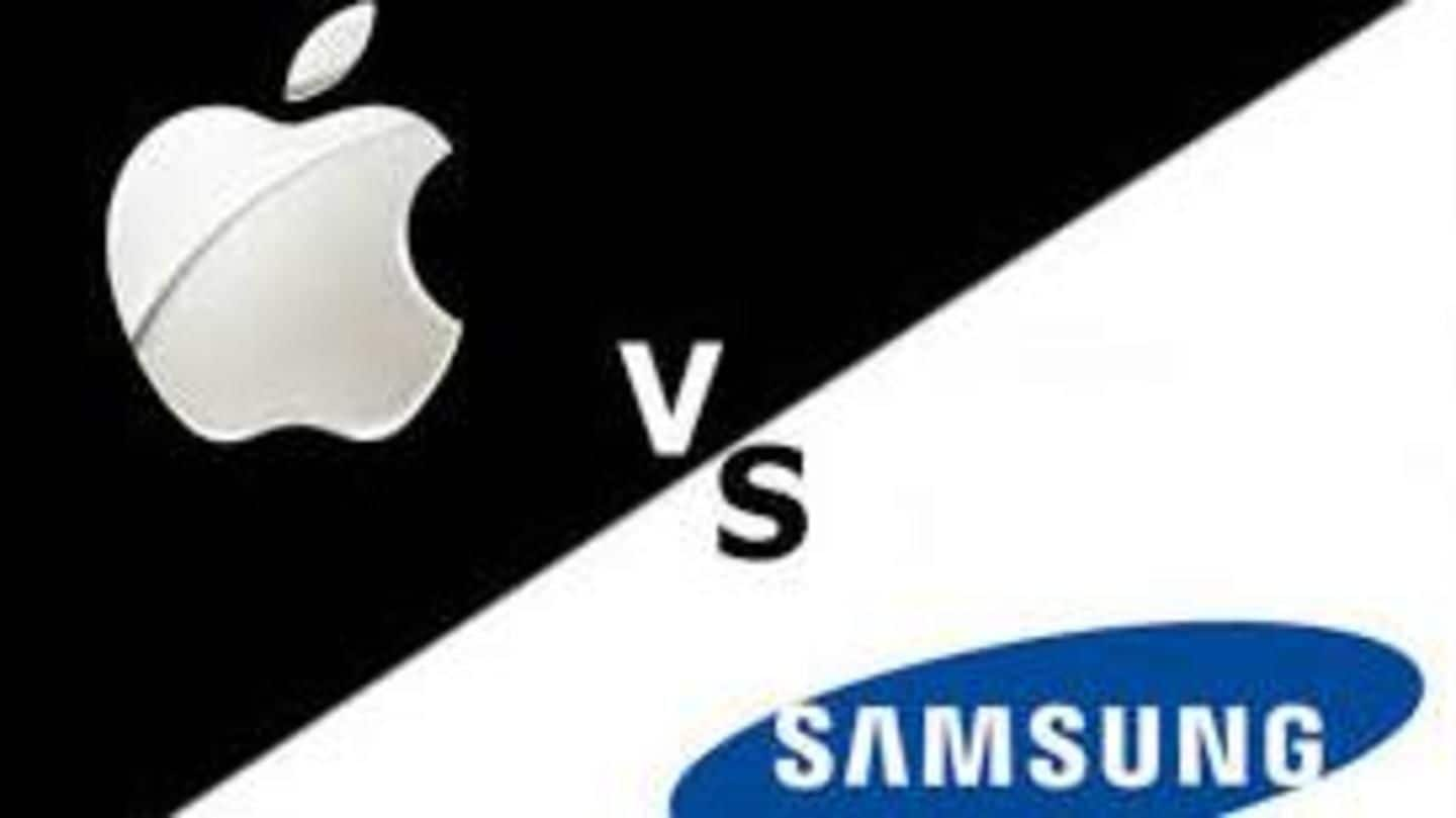 Apple seeking $1bn from Samsung in 7-year-old patent infringement dispute