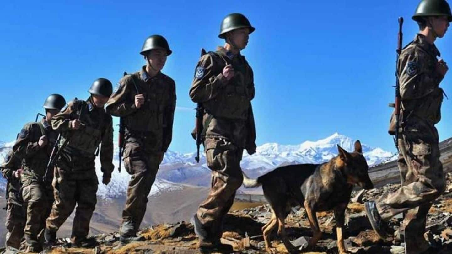 Chinese Army using new equipment for all-weather border monitoring