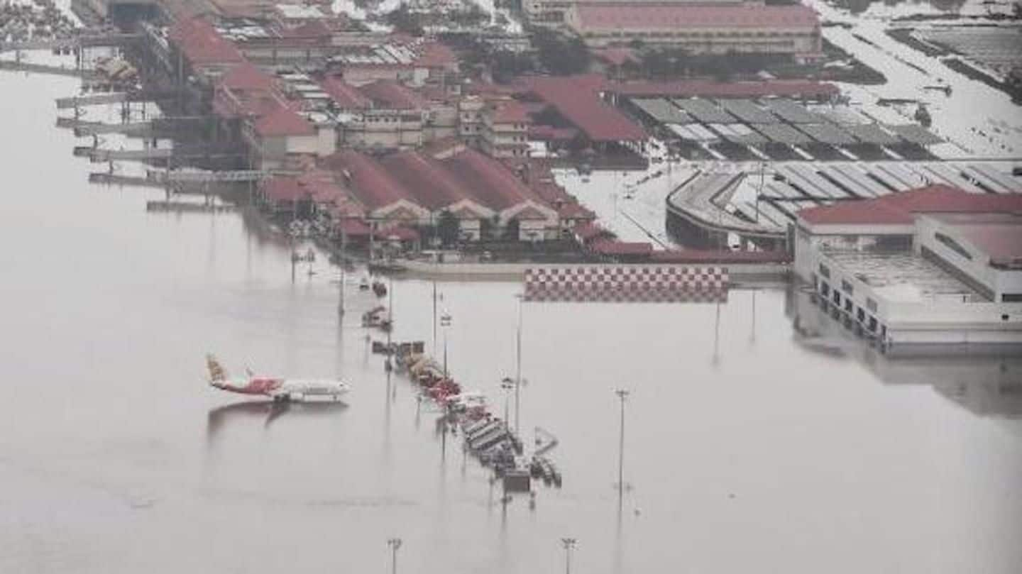 #KeralaFloods: Kochi Airport resumes operations, 15 days after being shut
