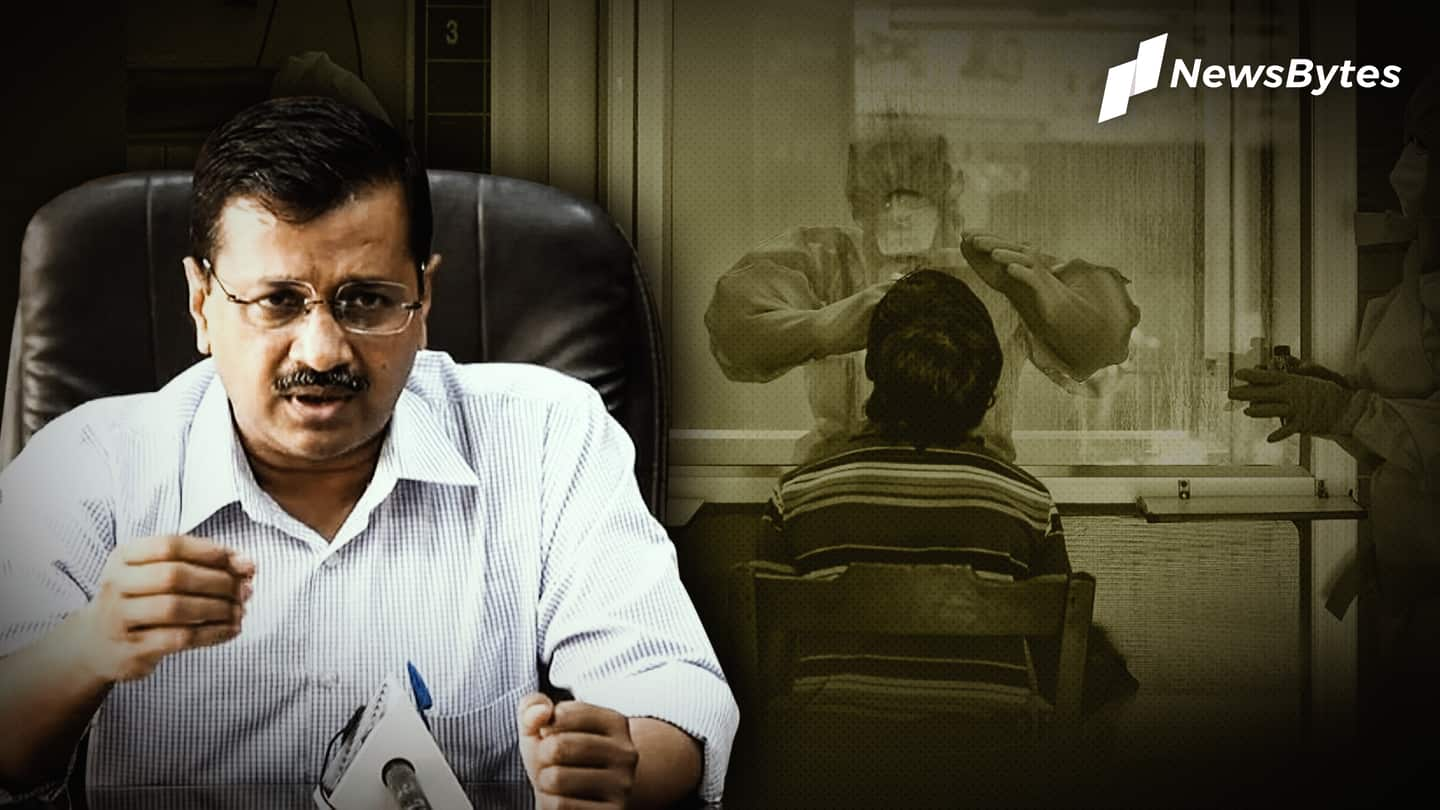 Kejriwal orders price cut for RT-PCR tests in private labs