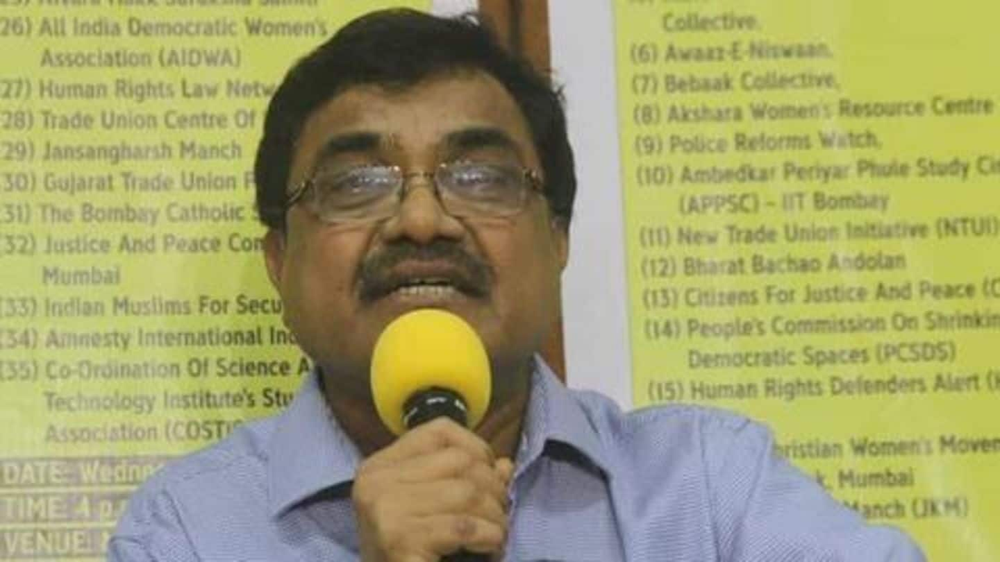 Pune court terms Anand Teltumbde's arrest 'illegal', orders release