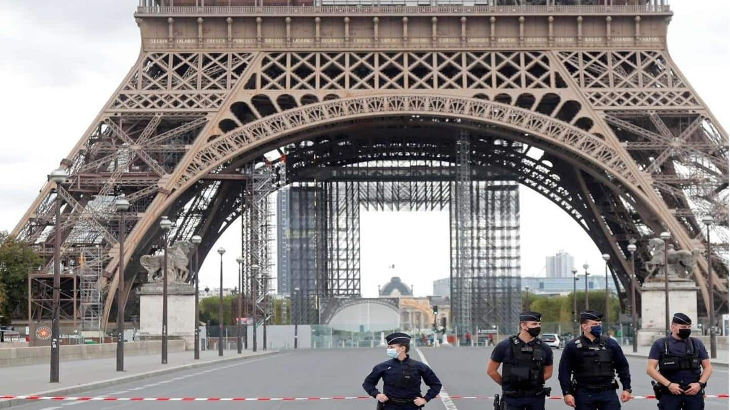 Military jet triggered loud noise that shook Paris, nearby areas