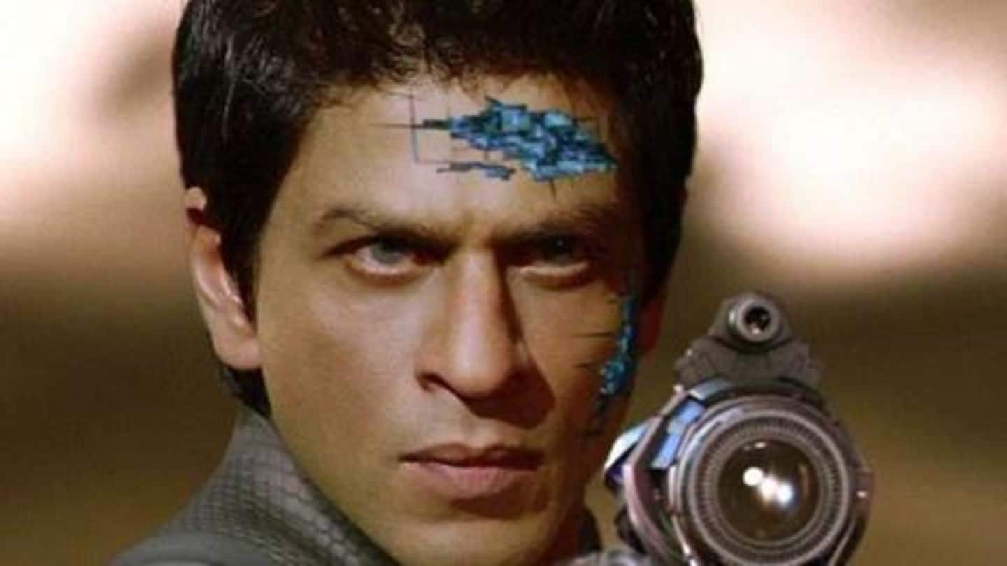 """#AskSRK: When asked to """"burn"""" Ra.One's CDs, superstar gave witty-response"""