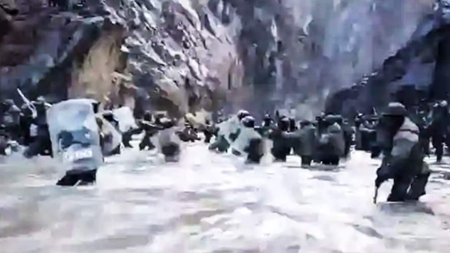After acknowledging casualties, China releases video of Galwan Valley clash