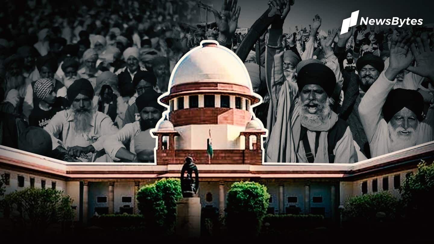 Farmers' protests   Supreme Court suggests forming panel to resolve issue