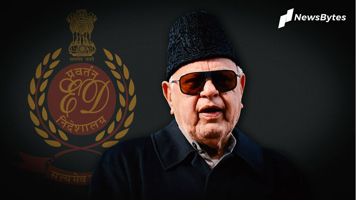 Farooq Abdullah grilled over cricket association scam; party cries vendetta