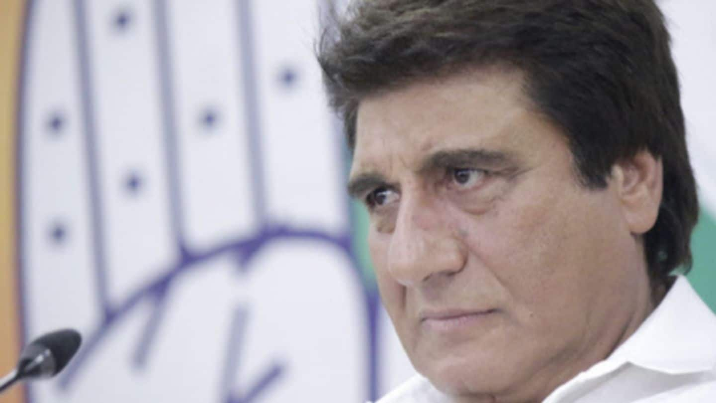 How does Mamata know Modi's kurta size, asks Raj Babbar