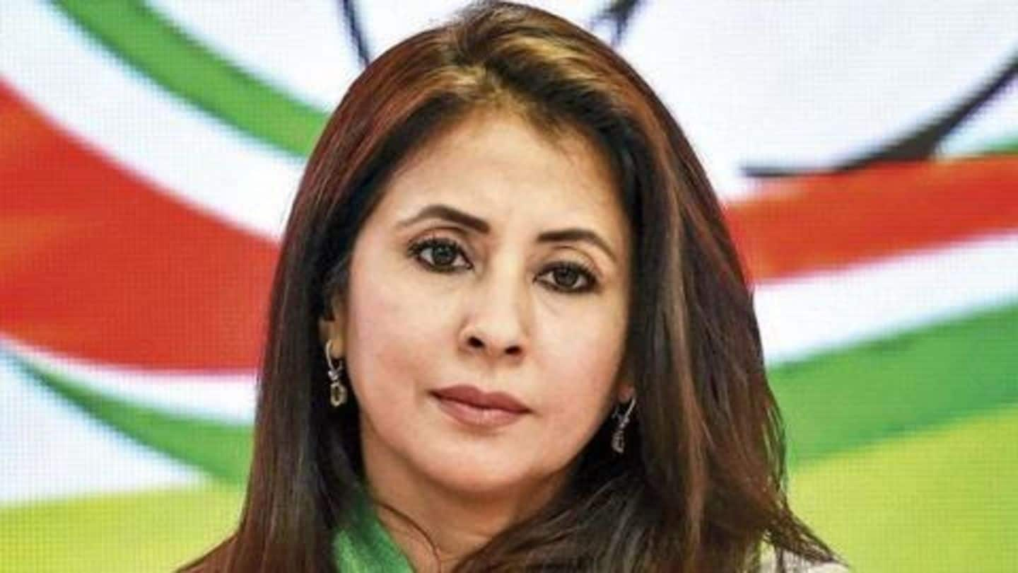 Can't be used for in-house politics: Urmila Matondkar quits Congress