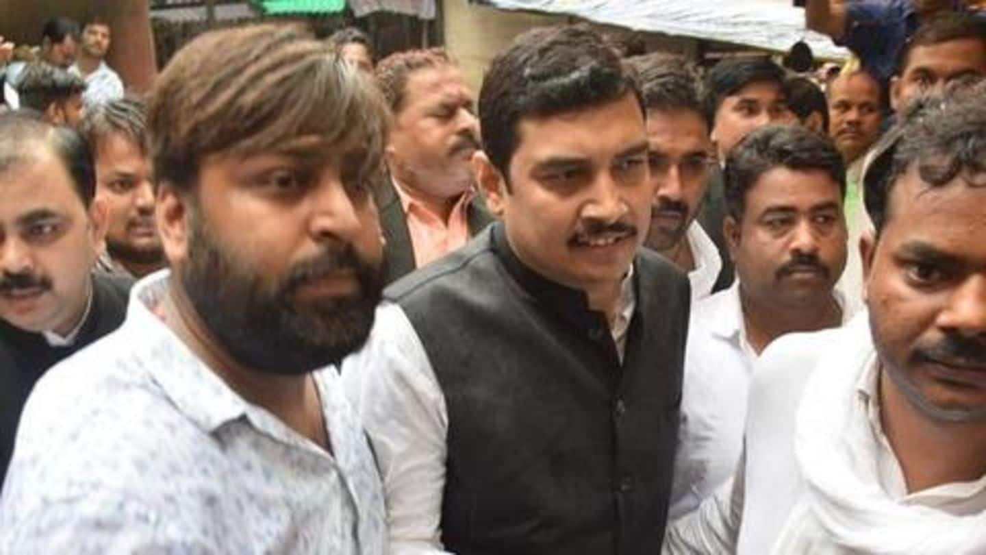 UP: Rape-accused BSP MP surrenders, gets 14-days remand